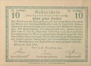 10 Heller (Niederösterreich) – reverse