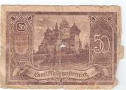 50 Heller (Niederösterreich) -  reverse