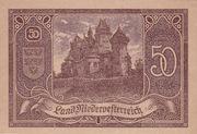 50 Heller (Niederösterreich) – obverse