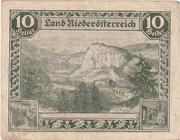 10 Heller (Niederösterreich) – obverse