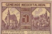 50 Heller (Niedertalheim) -  obverse
