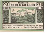 20 Heller (Niedertalheim) -  obverse