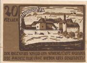 20 Heller (Niederwaldkirchen) -  reverse