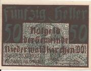 50 Heller (Niederwaldkirchen) -  obverse