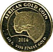 100 Francs CFA (Leopard) – reverse