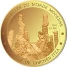 100 Francs CFA (Chichen Itza) – reverse