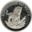 10 Francs CFA (Lion; Small type) – reverse