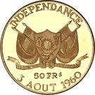50 Francs CFA (Independence) – obverse
