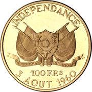 100 Francs CFA (Independence) – obverse