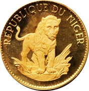 50 Francs CFA (Lion) – reverse