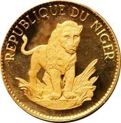50 Francs CFA (Lion) – reverse