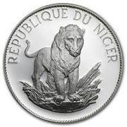 10 Francs CFA (Lion; Large type) – reverse