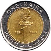 1 Naira – reverse