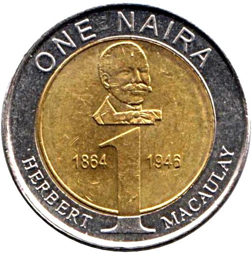 1 Naira - Nigeria – Numista