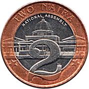 2 Naira -  reverse
