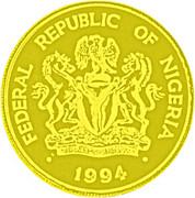 1000 Naira (100 Years - Banking In Nigeria) – obverse