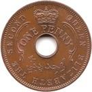 1 Penny - Elizabeth II – obverse