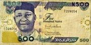 500 Naira – obverse
