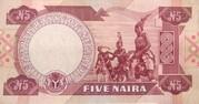 5 Naira -  reverse
