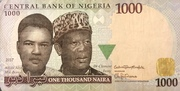 1000 Naira – obverse