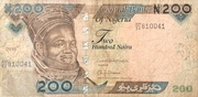 200 Naira – obverse