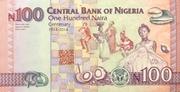 100 Naira ( Nigeria's 100 Years of Existence) – reverse