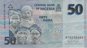 50 Naira – obverse