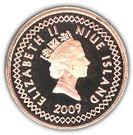 5 Cents - Elizabeth II (3rd portrait) – obverse