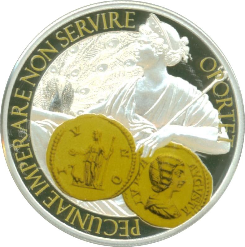 1 Dollar Elizabeth Ii Aureus Moneta Juno Niue Numista