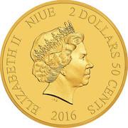 2 Dollars 50 Cents - Elizabeth II (Mickey Mouse - Brave Little Tailor) -  obverse