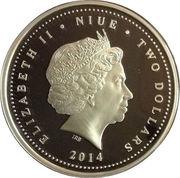 2 Dollars - Elizabeth II (Anne Geddes) -  obverse