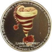 2 Dollars - Elizabeth II (Anne Geddes) -  reverse