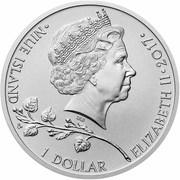 1 Dollar - Elizabeth II (Czech Lion) – obverse