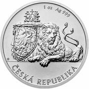 1 Dollar - Elizabeth II (Czech Lion) – reverse