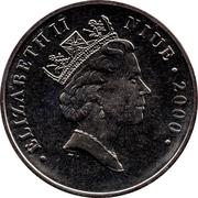 1 Dollar - Elizabeth II (Peanuts) – obverse