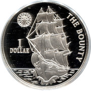 1 Dollar - Elizabeth II (The Bounty) – reverse