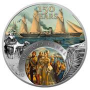 1 Dollar - Elizabeth II (150 years of the Suez Canal) – reverse