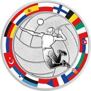 1 Dollar - Elizabeth II (Volleyball) – reverse