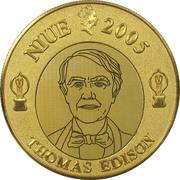 1 Dollar - Elizabeth II (Thomas Alva Edison) -  obverse