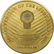 1 Dollar - Elizabeth II (Thomas Alva Edison) -  reverse