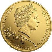 50 Dollars - Elizabeth II (Czech Lion) – obverse