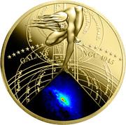 50 Cents - Elizabeth II (Galaxy NGC 4945) – reverse