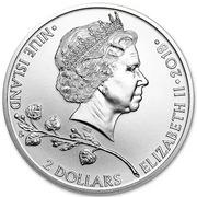 2 Dollars - Elizabeth II (Czech Lion) – obverse