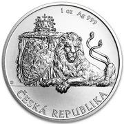 2 Dollars - Elizabeth II (Czech Lion) – reverse