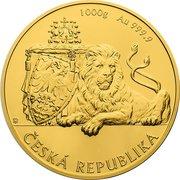 8000 Dollars - Elizabeth II (Czech Lion) – reverse