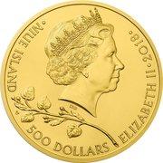500 Dollars - Elizabeth II (Czech Lion) – obverse