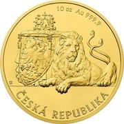 500 Dollars - Elizabeth II (Czech Lion) – reverse