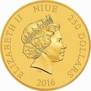 250 Dollars - Elizabeth II (Brave Little Tailor) -  obverse