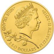 250 Dollars - Elizabeth II (Czech Lion) – obverse
