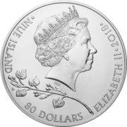 80 Dollars - Elizabeth II (Czech Lion) – obverse